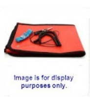 "Botron Dissipative Field Service Kit 24""x24"" 2-Pocket, W/Wrist Strap Set & Ground Cord Color: Blue"