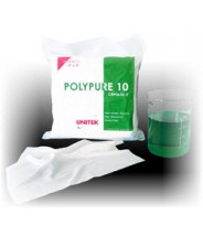 "Unitek Wipe 9""x9"" Cleanroom Class 10 Polypure Polyester, Light Weight ,Two Sided Laser Sealed, Laundered, Double Bagged Color: White 150/Pack"