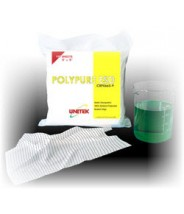 "Unitek Wipe 12""x12"" Cleanroom Class 100 Smooth Polycellulose, 45% Polyester/55% Cellulose Fibers Color: White 150/Pack"