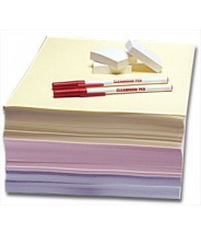 Clean-Write Paper 8.5x11 Cleanroom Impregnated & Coated with Polymer Formula Color: Yellow   250Sheets/Ream 5Reams/Case