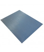 "Transforming Technologies ESD-Safe V-Groove Roll VinylStat PVC 3'x72""x1/8"" Color: Gray"