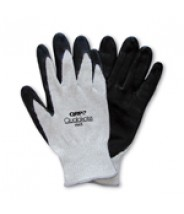 QRP Qualakote® ESD Medium Heat (Up To 250°F) Wave Solder Glove Nitrile Palm Coated Heavy Carbon/Nylon Knit Size: X-Large 12Pair/Pak
