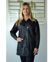 "Tech Wear ESD-Safe 32""L Traditional Jacket OFX-100 Color: Black Size: Large"