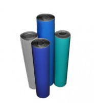 "Transforming Technologies 2-Layer Rubber Roll 48""x50'x.080 Color: Gray"