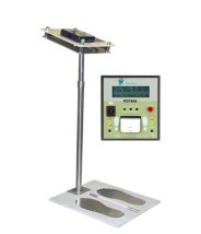 "Transforming Technologies Ohm Metrics™ ""Near-Fail"" Digital Wrist Strap/Footwear Combo ESD Tester With Stand & Foot Plate"