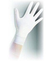 "QRP Qualatrile™ ESD Cleanroom 12"" Nitrile Glove 5mil Powder-Free Class 100 Color: White Size: Large 100/Double Bag"