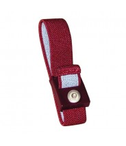 Transforming Technologies Wrist Strap Only Adjustable 4mm Maroon Fabric