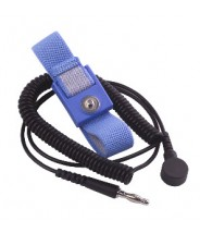 Transforming Technologies Wrist Strap Only Adjustable 10mm Blue Fabric