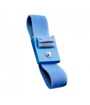 Transforming Technologies Wrist Strap Only Adjustable 4mm Blue Fabric