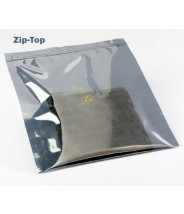 "3M™ Static Shielding 10""x24"" Zip-Top Bag Metal-In 100/Pack"