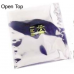 "3M™ Static Shielding 6""x8"" Open-Top Bag Metal-In 100/Pack"